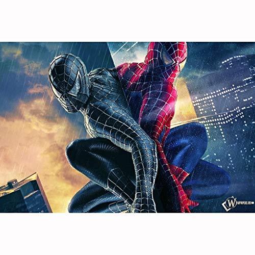JIGSAWTOY YAW Puzzle Spiderman, Rompecabezas de Madera Piezas 300/500/1000, Regalo Educativo del Juguete de niños for Adultos descompresión (Size : 1000 Pieces)