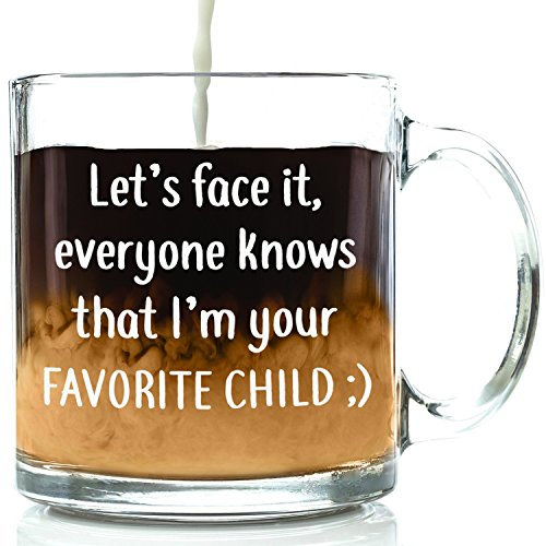 I'm Your Favorite Child Funny Coffee Mug - Best Mom & Dad...