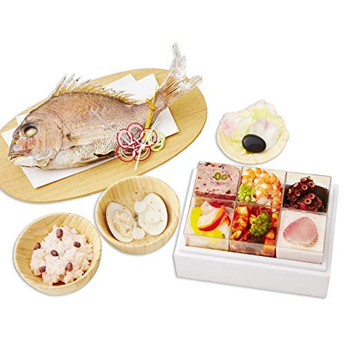 お祝い膳.com『フレンチお食い初め膳祝い鯛姿焼きコース』