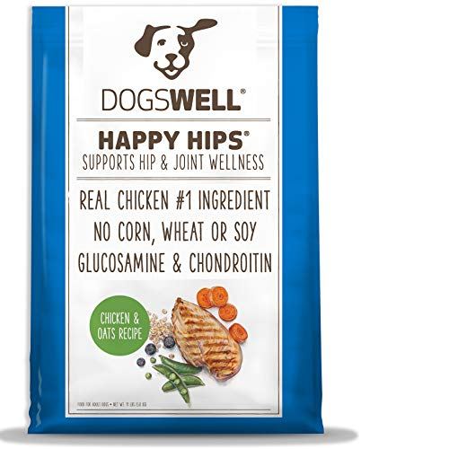 DOGSWELL Happy Hips Dry Dog Food with Glucosamine & Chondroitin,...