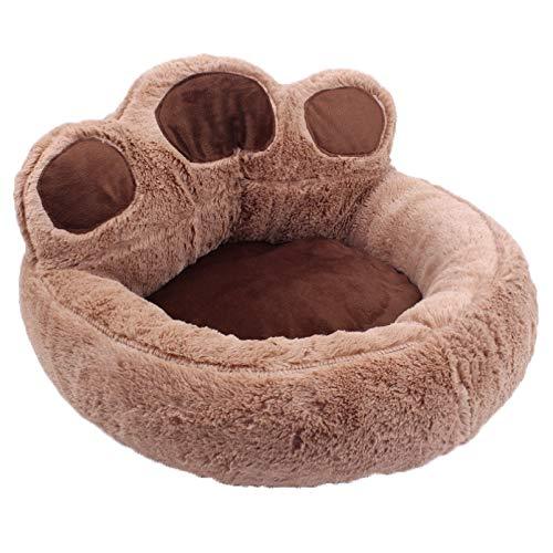 NGRE Pet Supplies - Sofá para mascotas con diseño de pata de oso y perro, se puede separar y lavar, apto para uso de mascotas pequeñas y medianas (??,??)