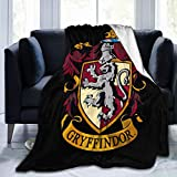 CAPTIVATE HEART Gryffindors Blanket Ultra-Soft Micro Fleece Blanket Super Soft Light Weight Throw Blanket Quilt for Bed Couch Sofa 50'X40'