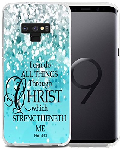 Case for Note 9 Bible Verse Protective - Case for Galaxy Note9 - CCLOT Cover Compatible for Samsung Note 9 Christian (TPU Protective Silicone Bumper Skin)