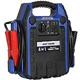BILT HARD Portable Power Station Jump Starter, 900 Peak/400 Instant Amps, 150 PSI Air Compressor, USB Port, DC Outlet, Work Light