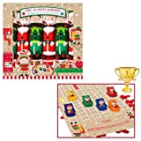 Widdle Wonderland 8553 Knallbonbons für Weihnachten, mit Schlittenrennen, 6 Stück -