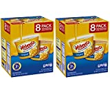 Velveeta Shells and Cheese Original Single Serve Cups 2.39 Ounce 8 Count Pack of 2