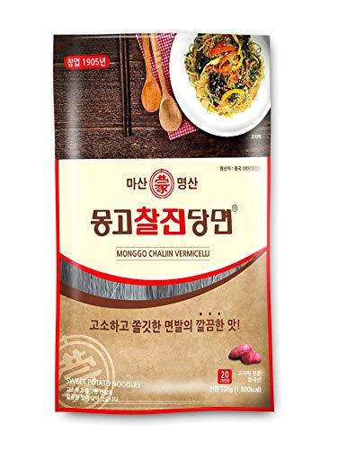 MONGGO Chal Jin Vermicelli Dang Myun Glass Noodles Sweet Potato Noodle(1.10IB)