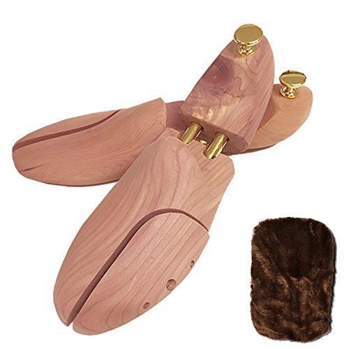 glossychoe(グロッシーシュ) シューキーパー レッドシダー 木製 メンズ 天然木 (38/39 (約24cm~25.5cm))