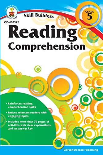 Carson Dellosa | Skill Builders Reading Comprehension Workbook | 5th Grade, 80pgs