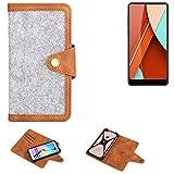K-S-Trade® Handy-Hülle Für Bluboo D5 Pro Schutz-Hülle