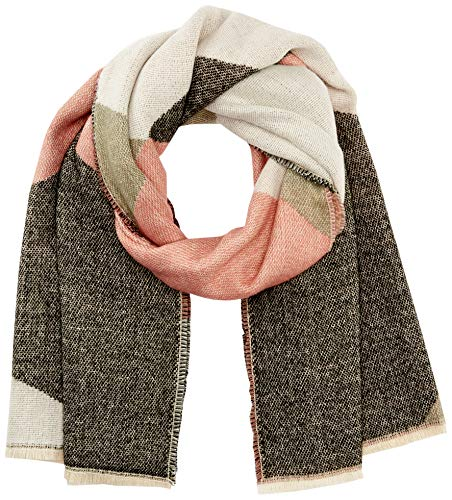 ONLY Damen ONLHUNTER Graphic Weaved Scarf CC Mode-Schal, Dusty Rose, ONE SIZE
