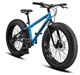 Mongoose Argus ST Youth Fat Tire Mountain Bike, 24-Inch Wheels, Mechanical Disc...