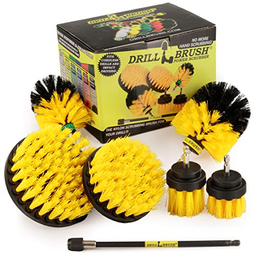 Drillbrush Ultimate Grout Cleaning Kit with Long Reach...