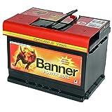 Banner Power Bull 62AH Batería para automóvil de Repuesto, 55Ah 60Ah 63Ah