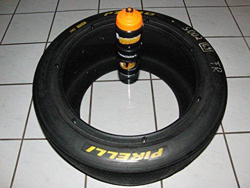 Racing Rennreifen Deko/Beistell-Tisch (aus der DTM/GT 3.) mit klarer oder carbonoptik PC Platte,Motorsport Geschenk,