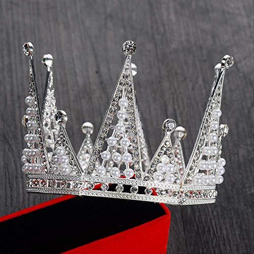 LBYLYH Ornament Cake Bakken Decoratie Headdress Kinderen Kroon Bruid Accessoires Feestjurk