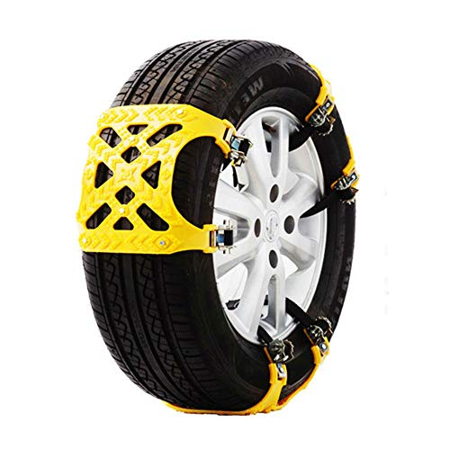 WTDlove Universal Anti-Rutsch-Kette Rindfleisch Sehne Verdickung Allzweck Auto Anti-Rutsch-Kette Reifen Schnee Kette