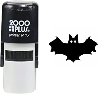Bat 2000 Plus Self Inking Halloween Rubber Stamp - Black Ink