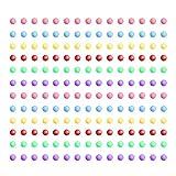 Amosfun 6 pacchi di Perle di Schiuma Mini polistirolo polistirolo Palle di Schiuma Artigia...