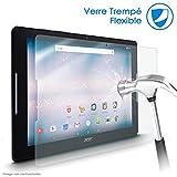KARYLAX - Protector de pantalla de cristal Nano flexible, dureza 9H, ultrafino 0,2 mm y 100% transparente para tablet Acer Predator 8 GT-810