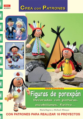 Serie Porexpán nº 1. FIGURAS DE POREXPÁN (Cp- Serie Porexpan (drac))