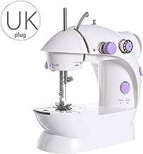 Dainerisy Mini Electric Sewing Machine 2 Speed Portable Desktop Handheld Household with LED Light UK Plug