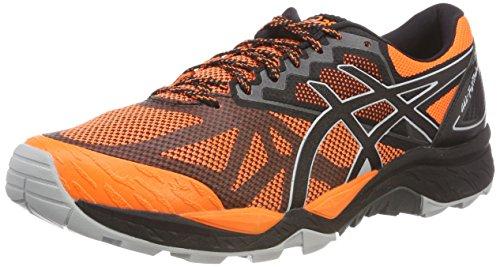 Asics Gel-Fujitrabuco 6, Zapatillas de Running para Hombre, Naranja (Shocking Orange/Dark Grey 800), 42 EU
