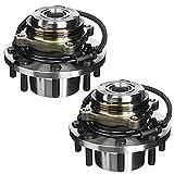Detroit Axle 515025 Both Front Wheel Hub and Bearing Assembly For 1999 2000 2001 2002 2003 2004 Ford F-250 f250 F-350 f350 F-450 f450 F-550 f550 SD 4x4 w/ABS