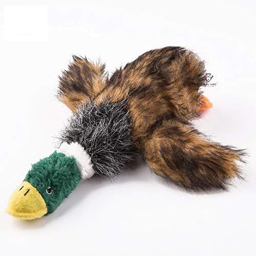 yuanchuang Stofftier Heißer Hundespielzeug Quietschen Ente Hundespielzeug Plüsch Spielzeug für Pet Hunde Kauen Plüsch Ente Spielzeug Design