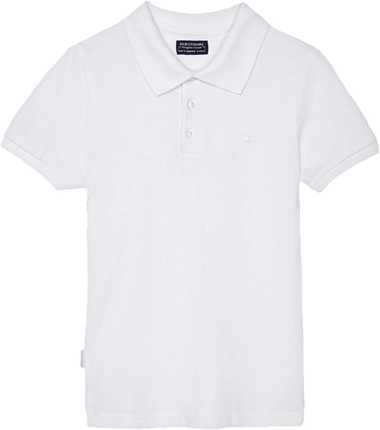 Mayoral - Basic s/s Polo for Boys - 0890, White