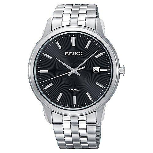 Seiko Neo Classic horloge SUR261P1 mannen zwart