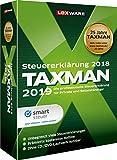 Lexware Taxman 2019 für das Steuerjahr 2018|Minibox|Übersichtliche Steuererklärungs-Software für...