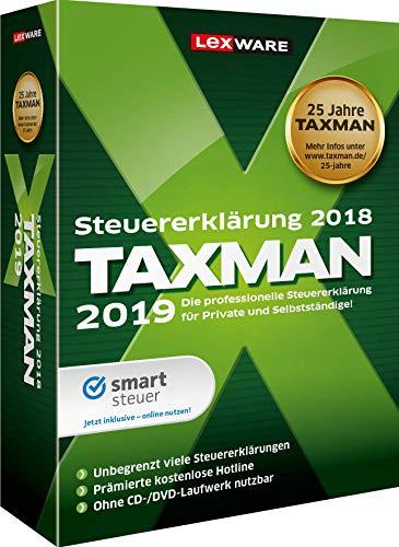 Lexware Taxman 2019 für das Steuerjahr 2018|Minibox|Übersichtliche Steuererklärungs-Software für Arbeitnehmer, Familien, Studenten und im Ausland Beschäftigte