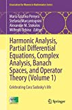 Harmonic Analysis, Partial Differential Equations, Complex Analysis, Banach Spaces, and Operator Theory (Volume 1): Celebrating Cora Sadosky's life (Association for Women in Mathematics Series)