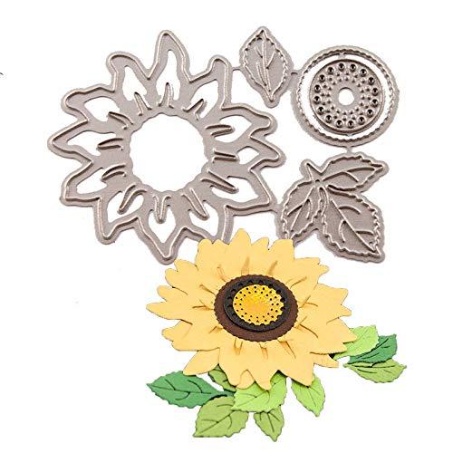 Sunflower Metal Dies for Card Making Scrapbooking Christmas Metal Cutting Dies Set