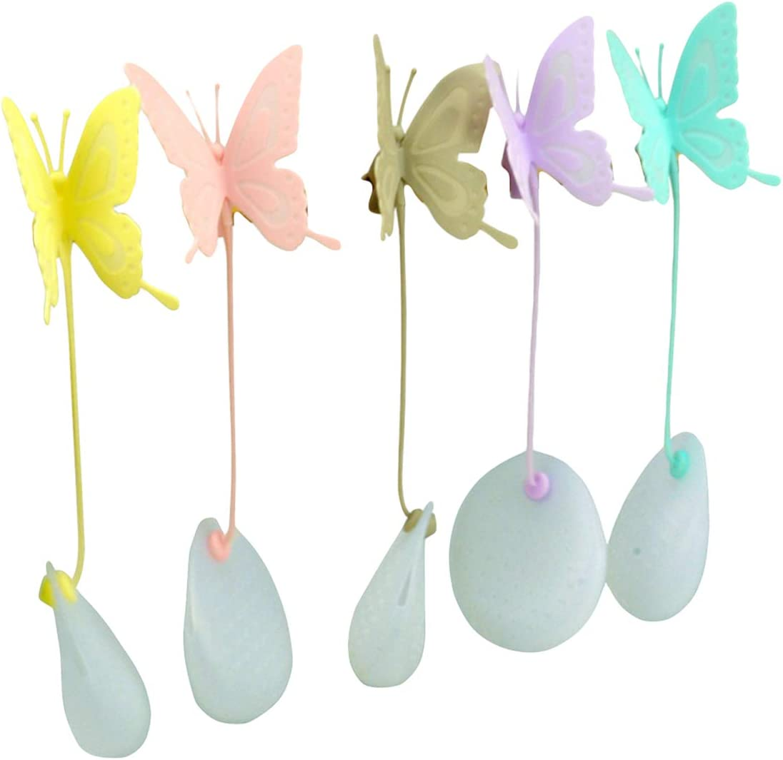 EOPER Max 73% OFF Tea Filter Bags 8 Cute Pieces Butterfly OFFicial Silicone Infu