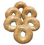 Moses-Bread Sourdough, Boiled & Baked, Bagels [6 bagels / pack]