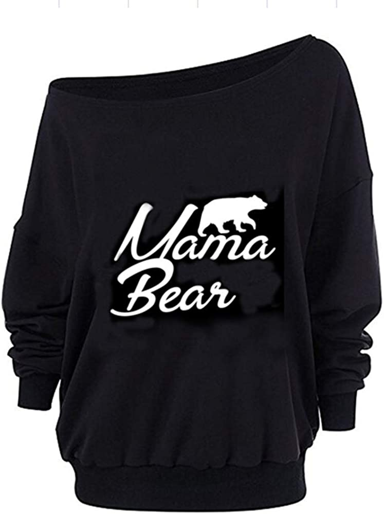 Women Oversized Off-The-Shoulder Slouchy Sweatshirt with Inside Fleeced