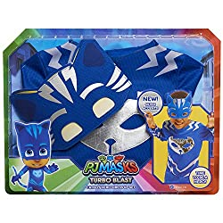 Made of quality fabrics! Comes in his signature blue colour! Features silver super-charged accents! Fits sizes 4-6X! Perfect for imaginative dress up, pretend play, birthday parties, and more!