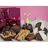 Dulcet Gift Baskets Chocolate Birthday Celebration Collection Gift Box with Unique Chocolate Rich...