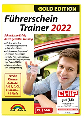 Führerschein Trainer 2022 - Original amtlicher Fragebogen