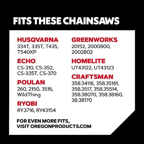 Oregon S56 AdvanceCut 16-Inch Chainsaw Chain Fits Craftsman, Echo, Homelite, Poulan, Remington, 1, grey