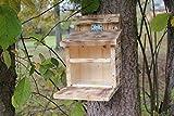 Garten und Holztrends Eichhörnchenfutterhaus-Eichhörnchen-Eichhörnchenhaus-Kobel-Eichhörnchenhaus-Eichhörnchenkobel