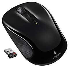This Certified Refurbished product is tested & certified by Logitech to work like-new. The product includes all original accessories, and is backed by a 90 day warranty Wireless 2.4 GHz, Optical technology Comfortable, ergonomic design, 3-buttons, Sc...