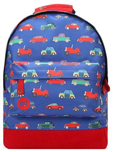 niños Mi-Pac Mini mochila, 33 cm, Multi (Coches BlueMulti)