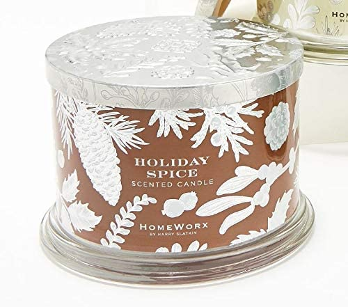 Import HomeWorx by Harry Slatkin Super sale period limited Sp. 14oz Holiday Candles Ed. S