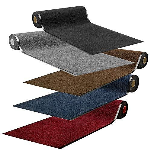 Fußmatte Sauberlaufmatte Spectral Meterware | Schmutzfangmatte in Wunschlänge | 90 und 120 cm Breite, 100-800 cm Länge | ab 37,66 € (27,90 €/m²) | gewählt: 120 cm breit, 100-150 cm lang, anthrazit