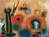 1art1 Joan Miró - Libelle Mit Roten Flügeln Poster