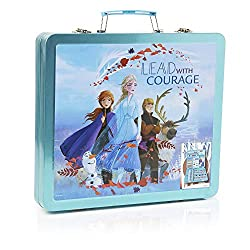 COMPLETE ART SET FOR KIDS FROM FROZEN --- Join Anna, Elsa and Olaf for some creative fun with this fantastic Frozen complete art case. Packed with over 60 pieces, you'll find everything you need to draw, colour and paint magical pictures. THE CHILDRE...