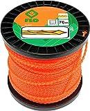 FLO 89485 - cortadora de hierba línea 2.7mmx70m silencio/giro cuadrado /